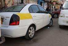 بسعر عرطة سيارة اكسنت  موديل 2007 امريكي للجادين