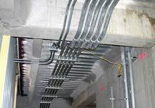 كهربائي لتنفيد كافة أعمال الكهرباء من بداية تصميم خرائط انشاء الكهرباء الخ