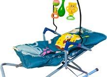 كرسي وسرير هزاز للأطفال وبسعر رائع والشحن مجاني والسداد عند الاستلام