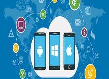 برمجة جميع تطبيقات الاندرويد و والايفون والدجتل ماركتنج وبرمجة وانشاء مواقع الال