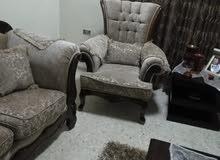 غرفة ضيوف بحال الوكالة مع منظر خشبي  نادرة