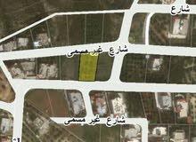 للبيع ارض 1000م شارعين في البحاث غرب عمان