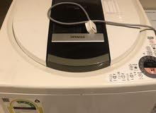 غسالة هيتاشي مستخدمة السعر600 فيها خراب يتصلح