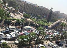 للبيع شقة تجاري امام جامعة القاهرة مباشرة