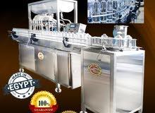 ماكينة تعبئة السوائل فى زجاجات اتوماتيكيا مع ماكينة غلق الغطاء
