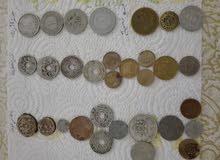 نقود اثرية قديمة ونادرة متنوعة