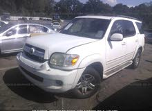 Used condition Toyota Sequoia 2005 with +200,000 km mileage