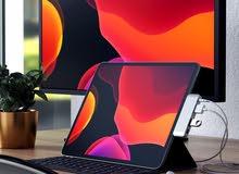 موزع usb c الايباد برو 2018 من شركة ساتشي Satechi اللون فضي مصنوع من المينيوم