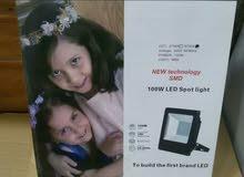 كشاف ليد 100 واط LED Flood Light 100 watt