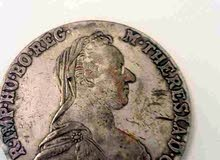 عملة ثرايسا فضة Theresa silver coin 1780