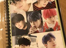 Sell the BTS photo covered notes!