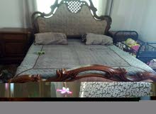 غرفه نوم بحاله الجديد مع فرشه