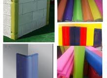 تفصيل حمايات للزوايا والجدران للحضانات ورياض الأطفال