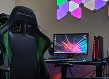 Gaming PC setup ASUS ROG G20 i7-6700/16gb ram/GTX 970 4gb/120gb ssd/1tb hdd/144hz Monitor