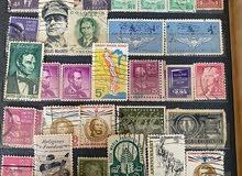 طوابع بريدية إماراتية قديمة للبيع