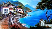 هانى الفنان للرسم على الجدران ورسم الشخصيات والديكورات وصناعة التحف والطاولات ..