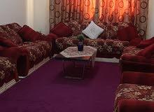 غرفه وصاله مفروشه للايجار الشهري في عجمان الروضه قريب من مطعم ليالي بيروت 3000
