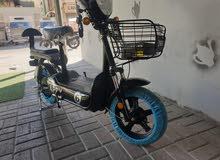 دراجة كهربائية جديدة في جميع الالوان