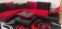 طقم كنب مع السجاده sofas and rug