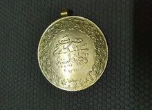 للسوم  عملة تركية قديمة ذهب عيار 21 و وزن 17.6جرام اصدار 1293 هجريا يعني حوالي 1876 ميلادي