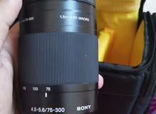 sony 75-300mm f/4.5-5.6 lens