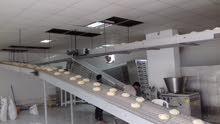 خط إنتاج خبز عربي (لبناني) آلي بالكامل