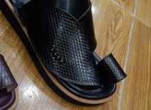 أحذية رجاليه شرقيه جلود طبيعيه  تفصيل المحل