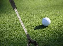 كرة جولف كسر زيرو Golf ball سعر الواحده 20