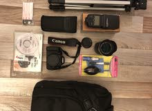 Canon DSLR 700D with full accessories