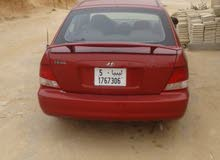 Red Hyundai Accent 2000 for sale