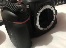 كاميرا نيكون D5200 شاتر قليل جدا 4500 استعمال خفيف