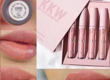 مجموعة كيم كاردشيان KKW lip kit الاصلية