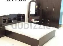 سرير حجم الملك ممتاز مع ماتريس للبيع