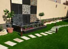 تصميم وزراعة وتنسيق الحدائق المنزلية وصيانتها