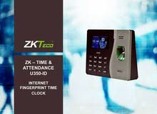 نظام ساعات دوام ZK TECHO من الشركة الأردنية البحرينية للأنظمة المتكاملة