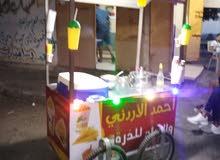 عربة ذره وبراد ممتازه..
