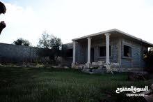 ارض بتاجوراء مساحتها 751م بها هيكل منزل100م للبيع شيك+كاش
