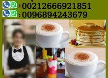 نوفر من المغرب نادلات و نادلين و معلمين بريستا و عصاير خبرة عالية 00212688719160
