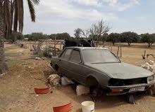 Gasoline Fuel/Power   Peugeot 505 1984