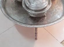 صواني فضة مغربية