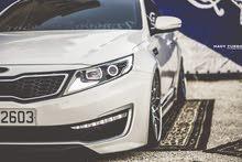 Kia Optima 2012 For Rent - White color