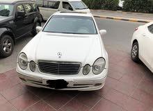 للبيع بحاله ممتازه جدا E240 موديل 2003