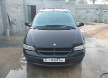 Black Chrysler Grand Voyager 1998 for sale