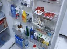 """ثلاجة كبيرة نظيف جدا Refrigerator-Freezer""""Panasonic""""(Net capacity 521 liters,"""