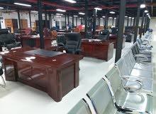 اثاث مكتبي + صوفا + مراتب جديد
