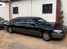 Black Lincoln Town Car 2006 for sale