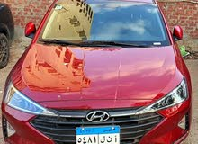 Elantra 2020 for rent in Cairo