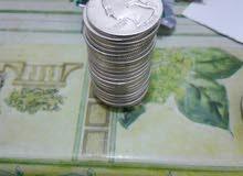 عملات فضيه امريكية قديم فئه ربع دولار