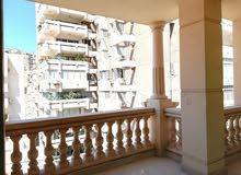 شقة 290 م للبيع ثروت شارع عبدالحميد الديب تري البحر رؤية واضحة