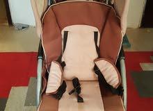 عربة مزدوجة جونيور للبيع stroller double for sale